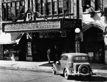 Early theatre photo